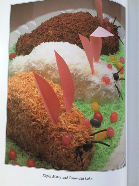 flopsy mopsy and cottontail cakes