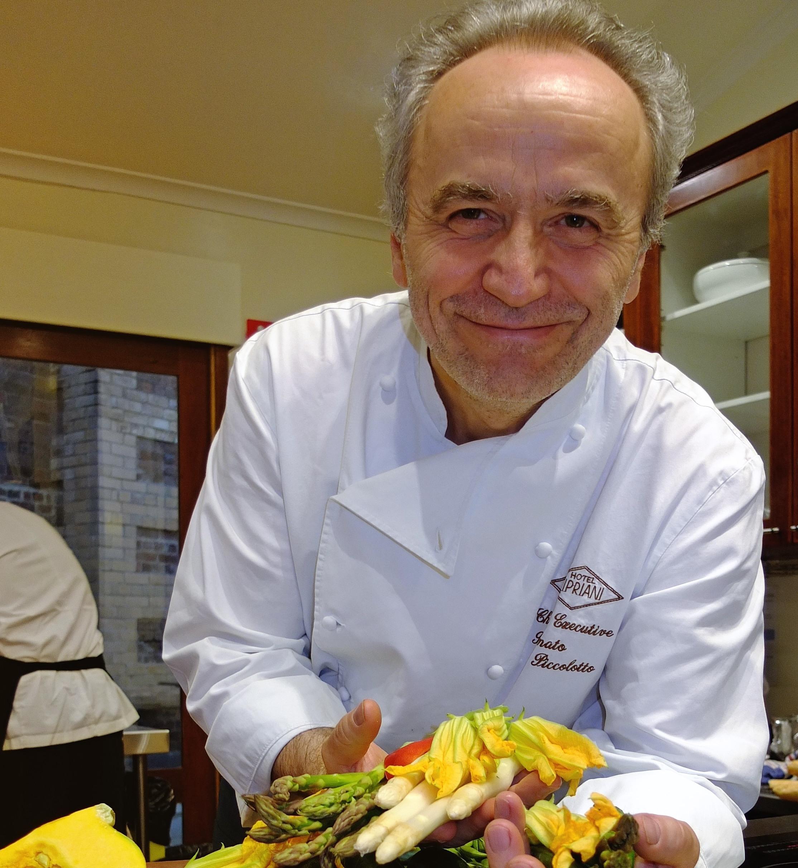 Chef Renato's risotto secrets