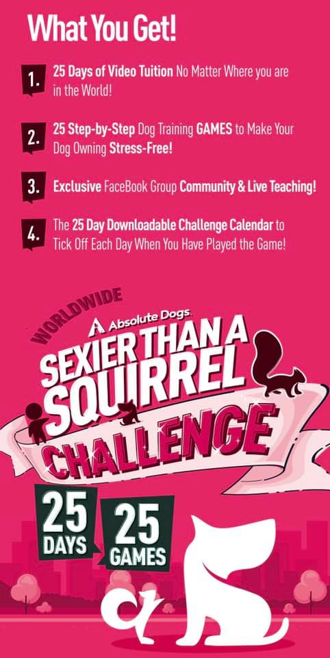 sexier than a squirrel challenge
