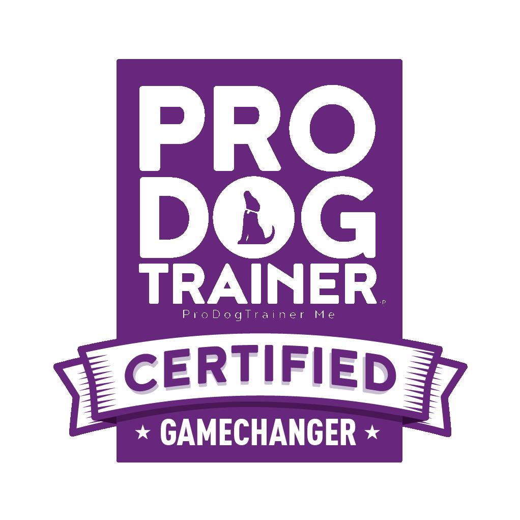 Pro Dog Trainer Certification badge