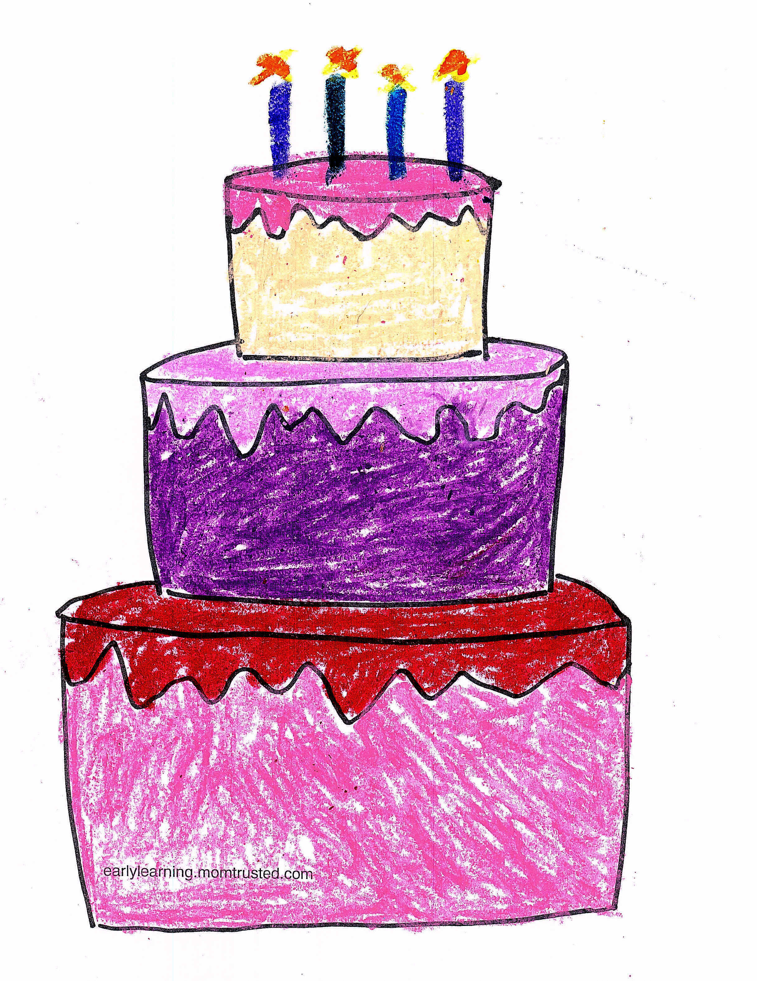 Birthday Cake Printable