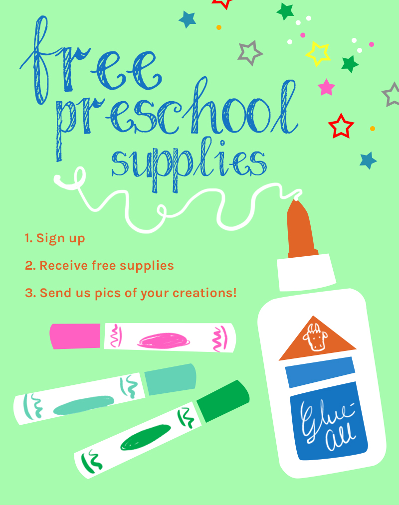 preschool supplies