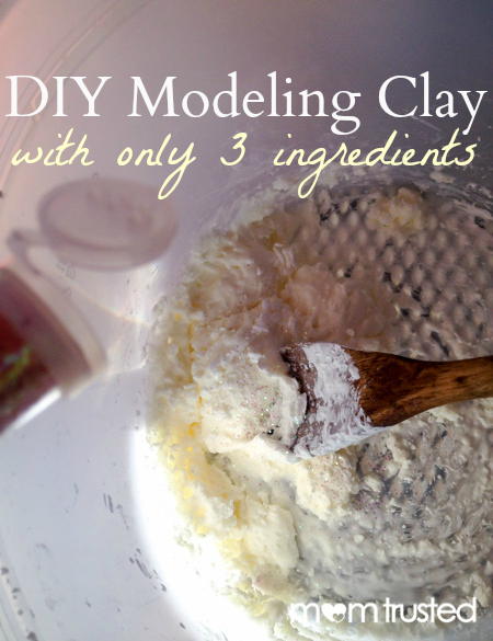 DIY 3 Ingredient Modeling Clay by MomTrusted_com