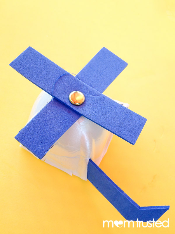 Recycled Foam Helicopter Craftpreschool Activities And Printables