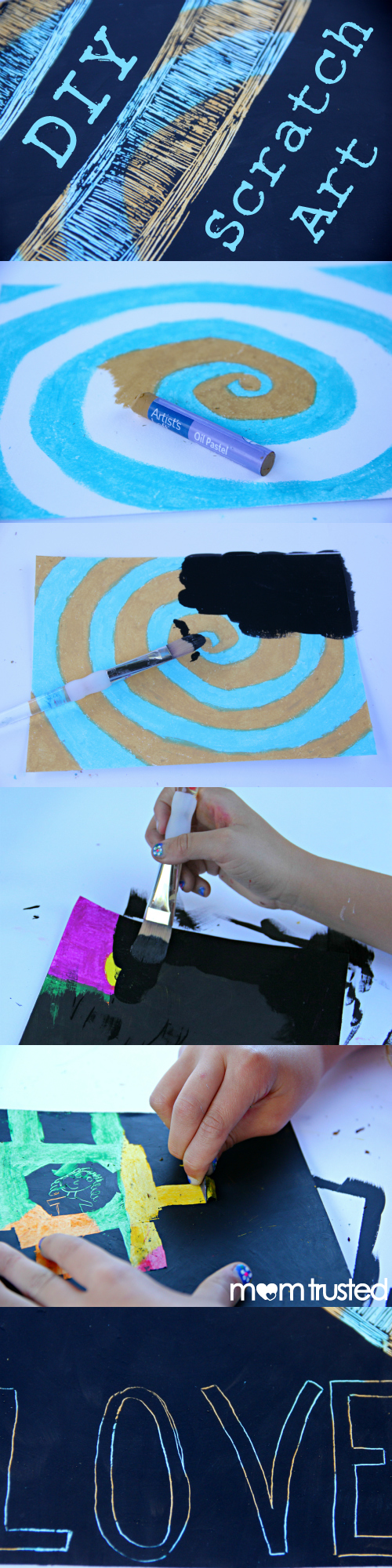 DIY Scratch Art by MomTrusted_com collage 2