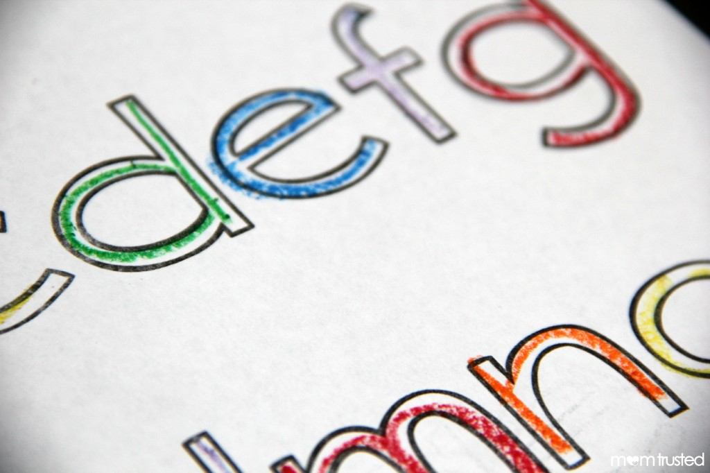 Rainbow Letters Lesson and Printables by MomTrusted_com 2
