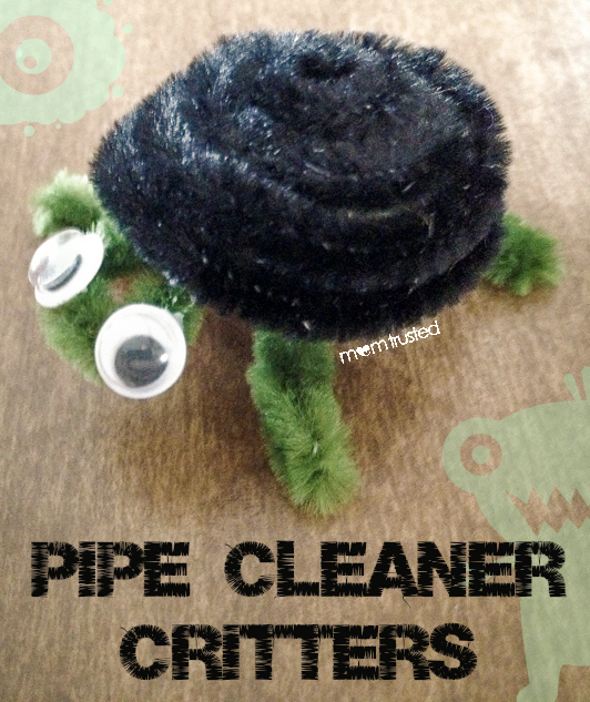 how to make pipe cleaner critters by MomTrusted_com