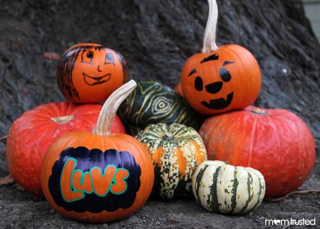 Paint Pen Pumpkins by MomTrusted 1 wm