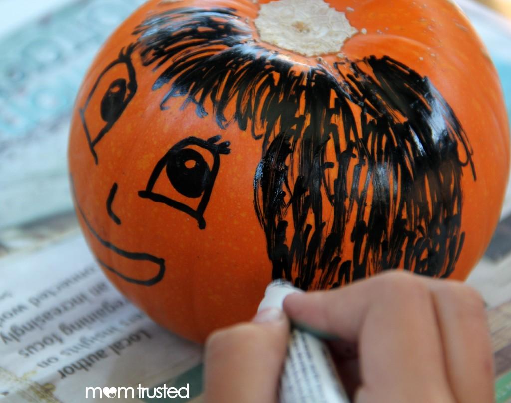Paint Pen Pumpkins by MomTrusted 2 wm