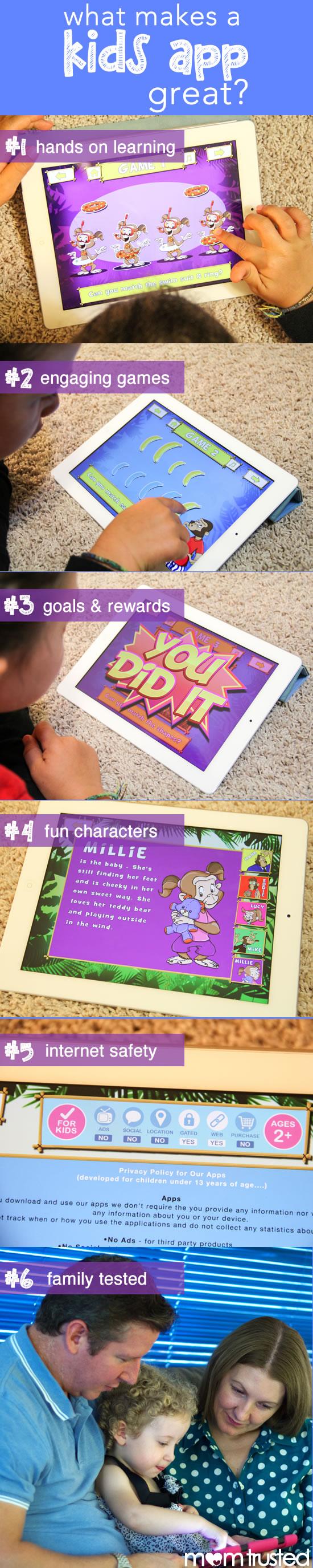 what makes a good kids app
