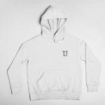 hoodie L.I. logo (white black)