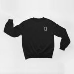 sweatshirt L.I. logo (black white)