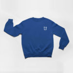 sweatshirt L.I. logo (navy blue and white)