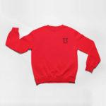 sweatshirt L.I. logo (red black)