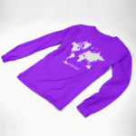 longsleeve MAP logo (purple white)