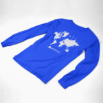 longsleeve MAP logo (royal white)