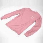 longsleeve tee L.I. (pink white)