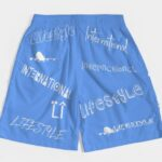 Lifestyle Overseas shorts sky blue 5