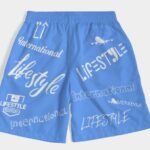 Lifestyle Overseas shorts sky blue 6