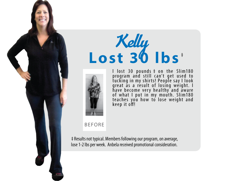 Kelly Lost 30lbs