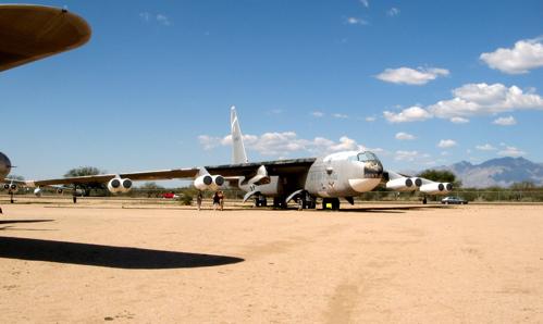 B-52 with x-plane spar
