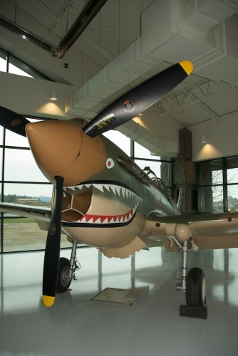 p-40 warhawk in Flying Tigers livery.