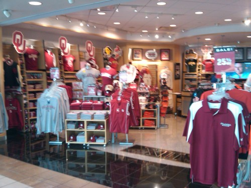 Big XII Store at OKC