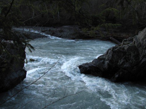 Elwha River at Goblins Gate