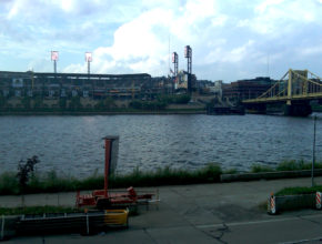 pnc park allegheny river