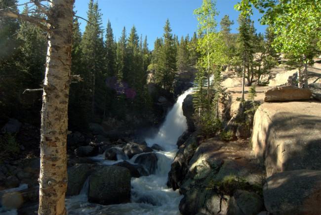 Alberta Falls at RMNP