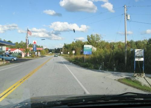 Entering Vermont