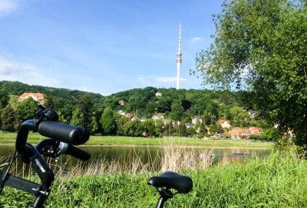 The Dresden Funkturm. No tourists allowed :(.