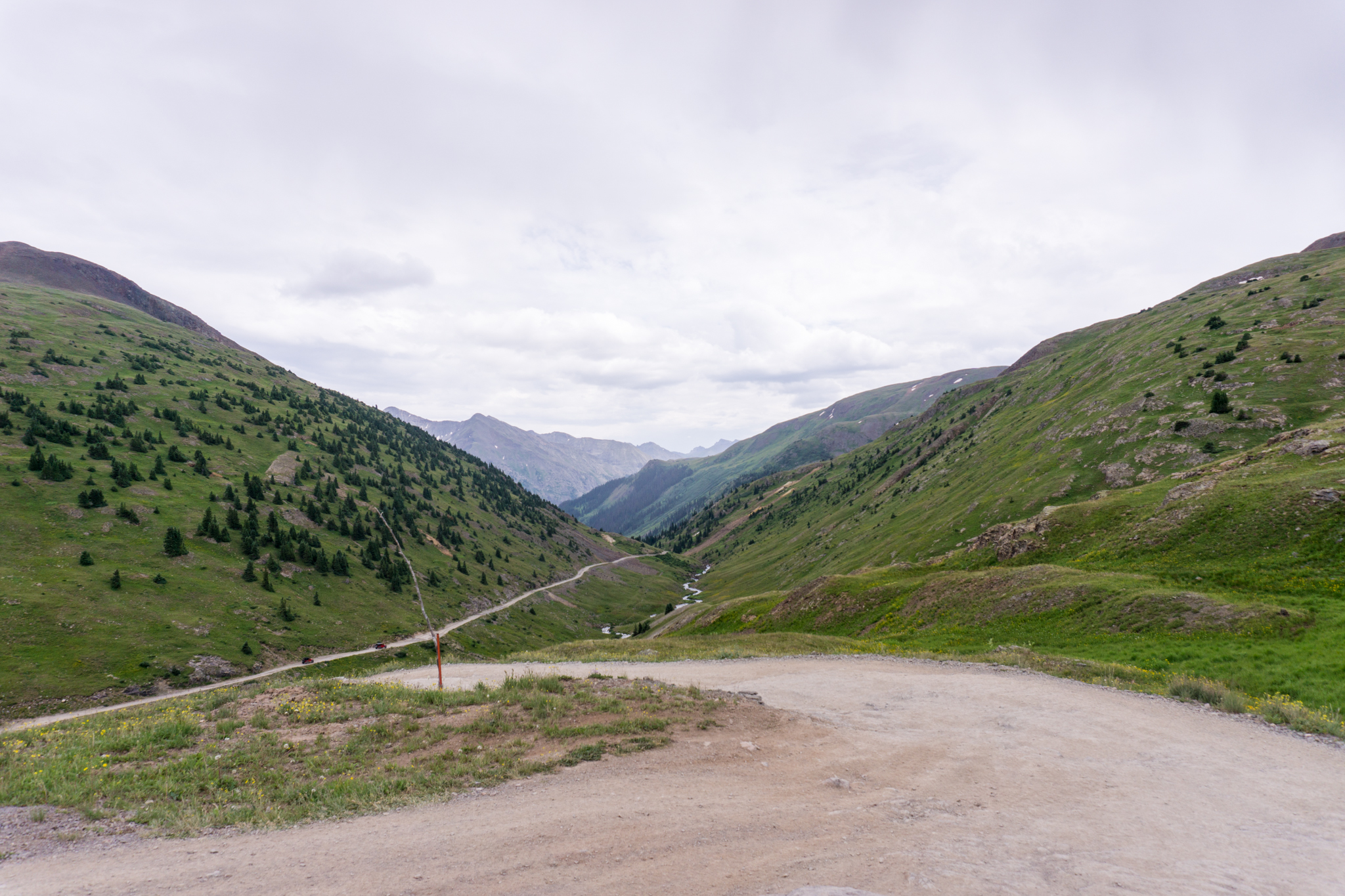 One of many hairpins.