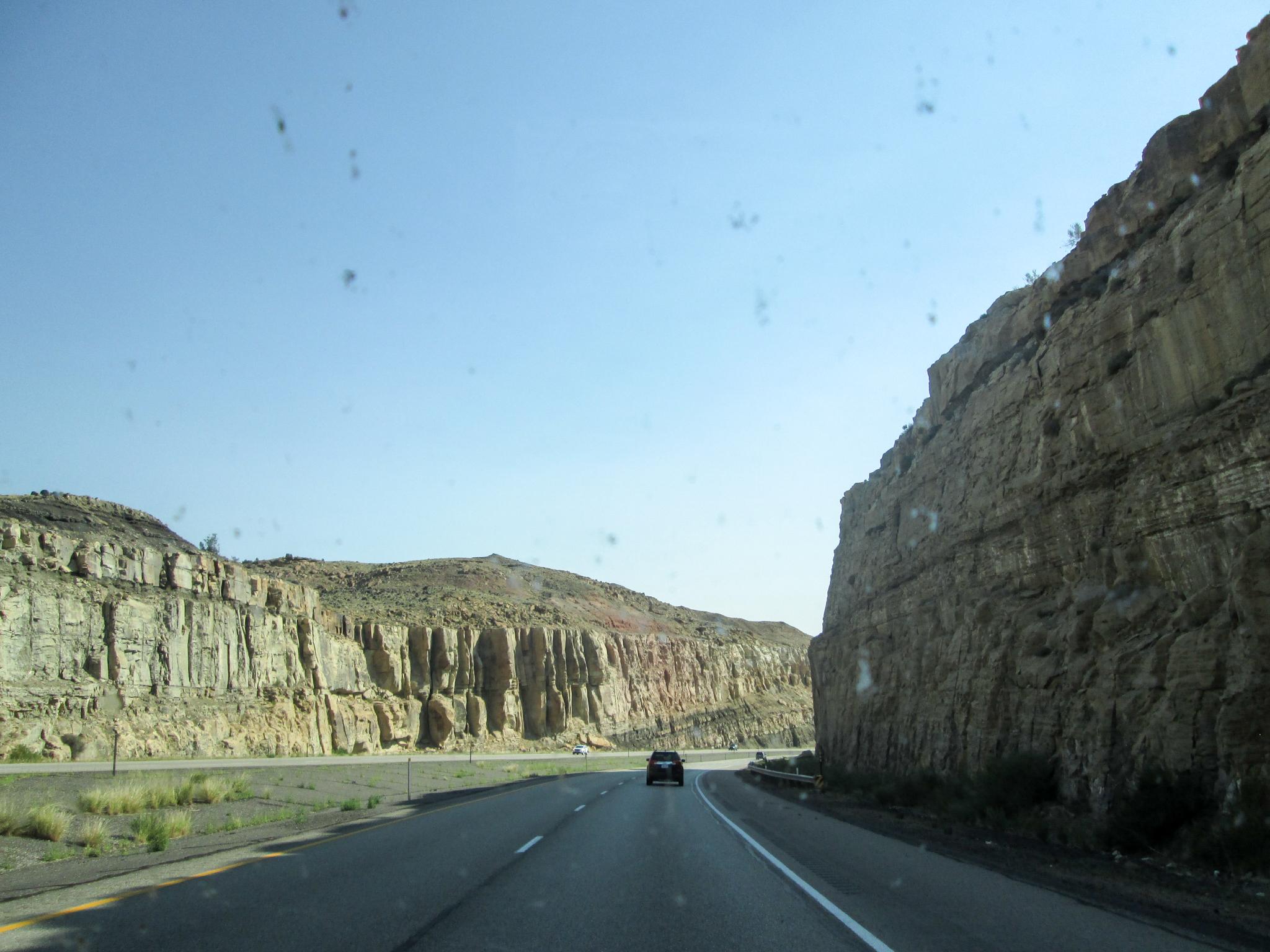 I-70 East, Utah