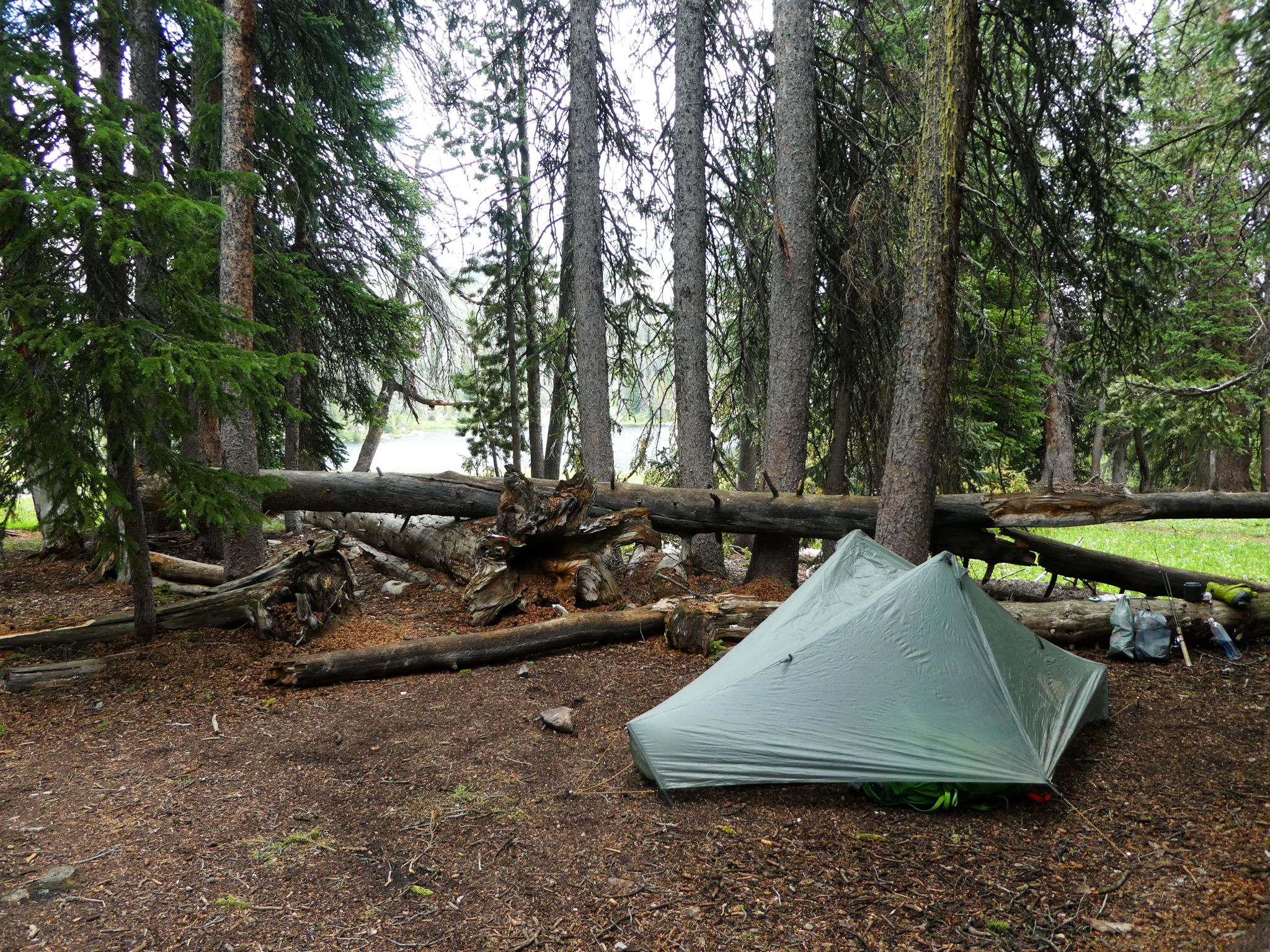Campsite, Upper Sweeney Lake