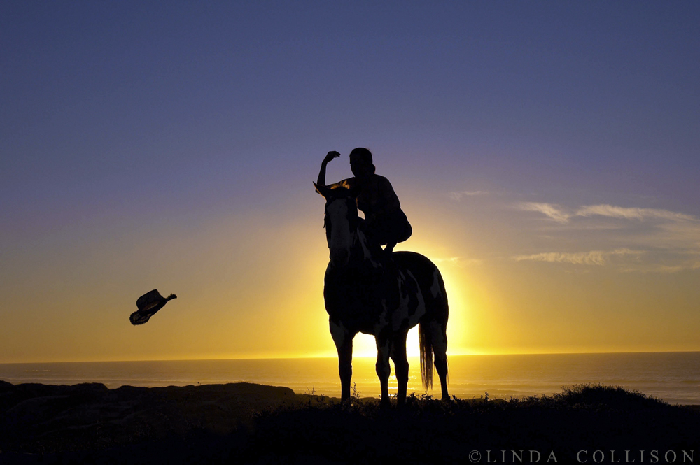CowgirlSunset