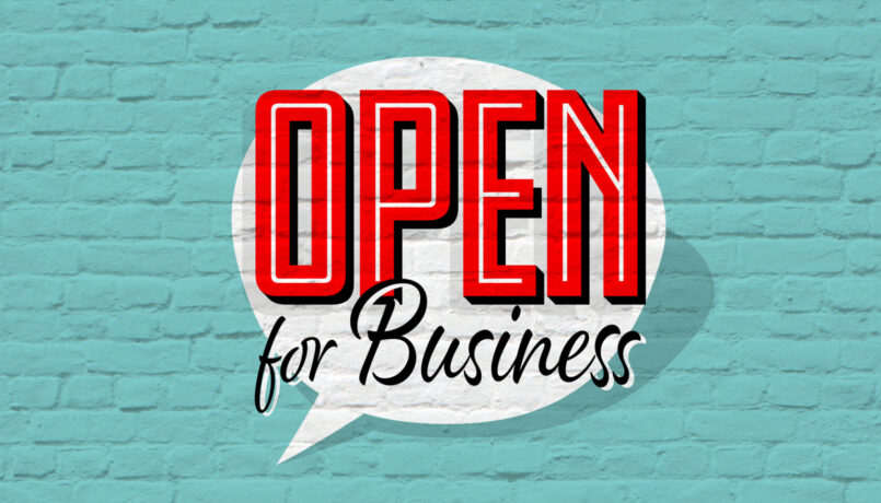 Open for Business - COVID-19 Statement