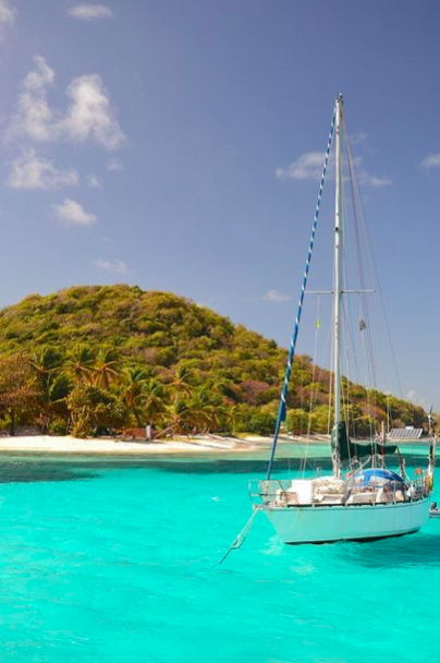 Sailing Through The Grenadines