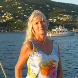 Sue Wilbar Russell - Charter Yacht Specialist