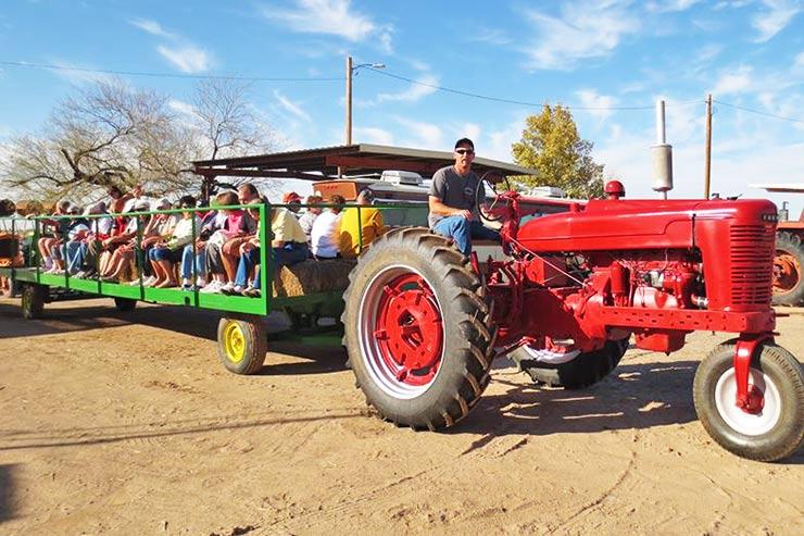 farm tour wagon