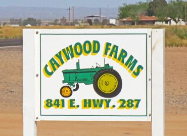 Caywood Farm Sign