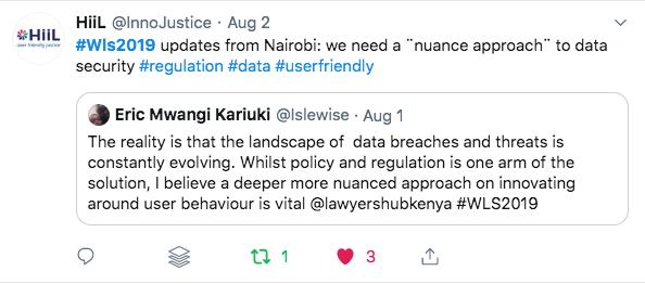 Nairobi, Kenya WLS 2019