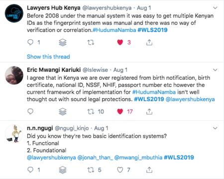 Kenya, WLS 2019