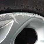 scuffed wheel damage