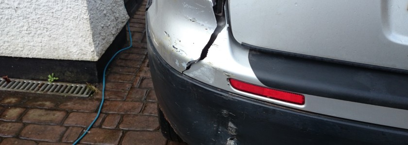 Cracked Bumper