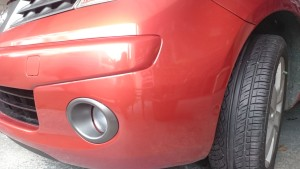 bumper repair saltash plymouth fixed
