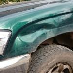 Wing Toyota Damage