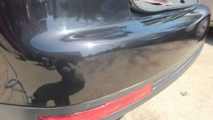 small split on bumper repaired
