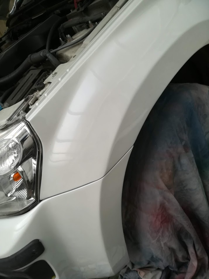 Large Wing Dent Repair