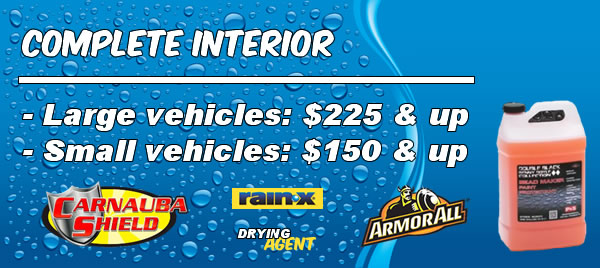 Complete Interior Pricing